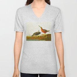 Red-breasted Snipe Bird Unisex V-Neck
