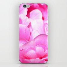 Pink Peony Flower iPhone & iPod Skin