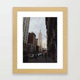 Empire State Building 2 Framed Art Print