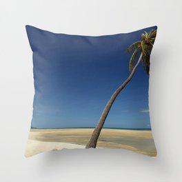Koh Samui Thailand Beach View Throw Pillow