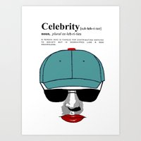 celebrity Art Prints featuring Celebrity by jt7art&design