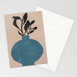 Modern Vase with Plants No.7 Stationery Cards