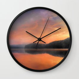 Morning Solitude Wall Clock