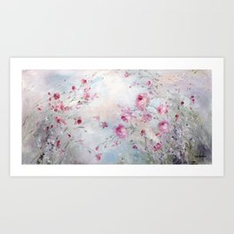 Rose Meadow Art Print