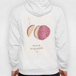 Peach Divagation Hoody