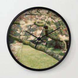 Tree Blossoms Wall Clock