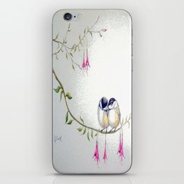Two Chickadees iPhone Skin
