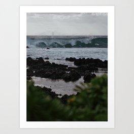 Early Morning Waves Art Print