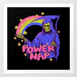 Power Nap Art Print