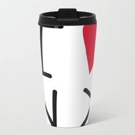 catcatcatcatcat Metal Travel Mug