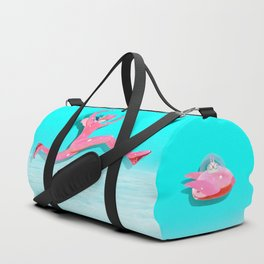 Pink Catwoman Duffle Bag