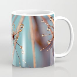 Queen Anne's Lace in Blue Coffee Mug