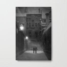 """Twilight Whiles"" 2.5 Metal Print"
