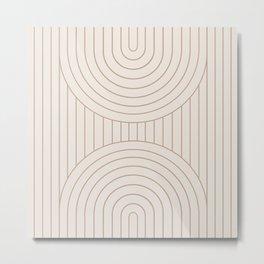 Arch Symmetry XXVI Metal Print