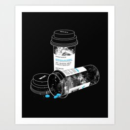 Space RX Art Print