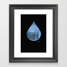 Water : Property of the People 2 Framed Art Print