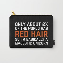 Red Hair Funny Quote Carry-All Pouch
