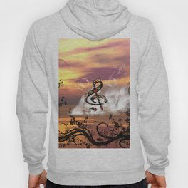 Colorful clef Hoody