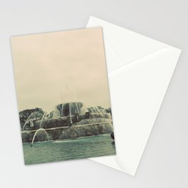 Buckingham Fountain Chicago Stationery Cards