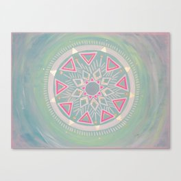 Mandala Clarity, Focus, Awareness Canvas Print