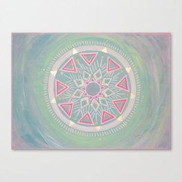 Mandala Clarity, Focus, Awareness Canvas Print