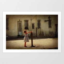Boboli Bubbler Art Print