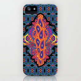 Indian Embroidery iPhone Case