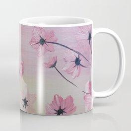 Blooming Flowers, Pink flowers, Floral Bloom, Blooming Light Coffee Mug