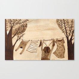 Tendedero Canvas Print