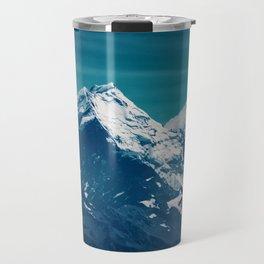 Aoraki Mount Cook glacier summit Travel Mug