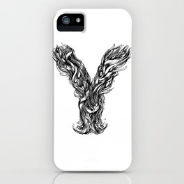 The Illustrated Y iPhone Case