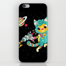 Kitty Cat Space Captain iPhone & iPod Skin