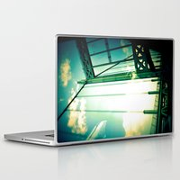 bridge Laptop & iPad Skins featuring Bridge by Abby Strobel