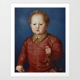 BRONZINO Florencia, 1503 - Florencia, 1572 Don Garcia de Medici Ca. 1550 Art Print