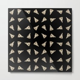 SLICES OF PIZZA Metal Print