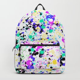 Abstract,splash pattern Backpack