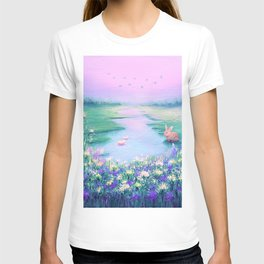 Pools of Blessing After Rain T-shirt