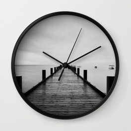 ghost ships #1 Wall Clock