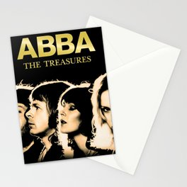 ABBA THE TREASURES TOUR DATES 2019 BAKPAU Stationery Cards