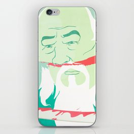 The Death of Master Zhang iPhone Skin