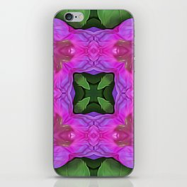 Flowers of Synchrony iPhone Skin