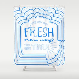 Fresh New Ways – Blueberry Shower Curtain