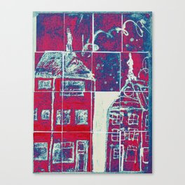 Up On A Roof: #26 from children will play.  Canvas Print