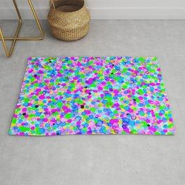 Coloured Dots Experiment : Purple Rug