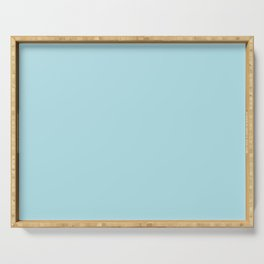Pastel Blue Serving Tray