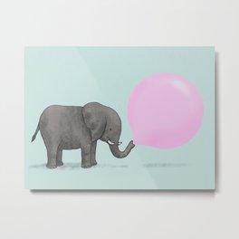 Jumbo Bubble Metal Print