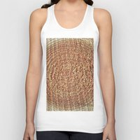 tree rings Tank Tops featuring Oak Rings by Michael S.