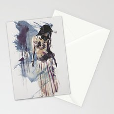 Bellydancer Abstract Stationery Cards
