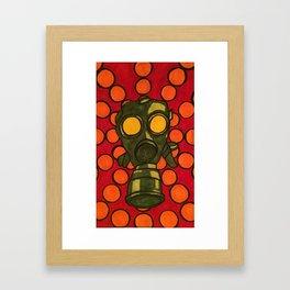 Gas Mask 002 Framed Art Print