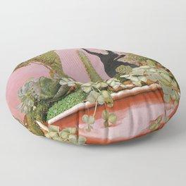 The Wonders of Cactus Island Floor Pillow